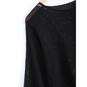 Long Sleeves RoundNeck Candy Color Sweater -