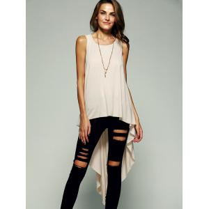 High Low Long Tank Top -