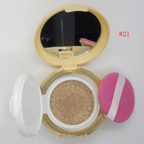 Outfit Stylish Flawless Nude Makeup Air Cushion BB Cream with Mirror and Puff