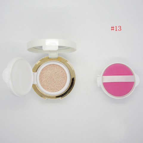 Flawless Nude Makeup Air Cushion CC Cream with Mirror and Puff