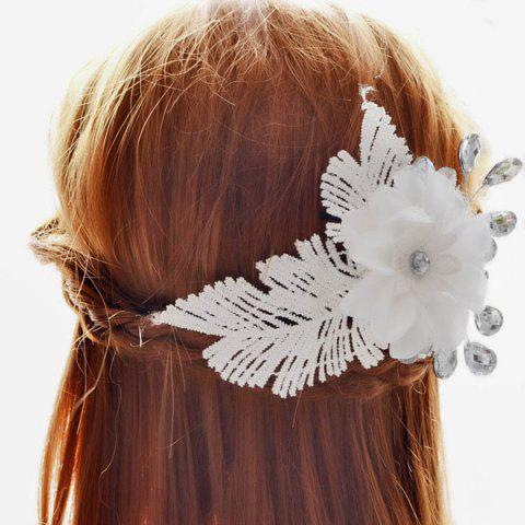 Graceful Leaf Floral Wedding Jewelry Hair Decoration