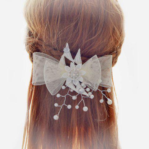 Discount Gorgeous Bowknot Wedding Jewelry Hair Decoration