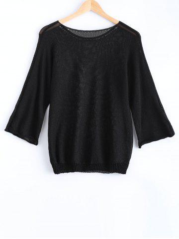 New Long Sleeves Round Neck Candy Color Sweater