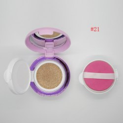 Stylish Brighten Concealer Aloin Air Cushion BB Cream with Mirror and Puff