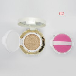 Stylish Nude Makeup Air Cushion CC Cream with Mirror and Puff -