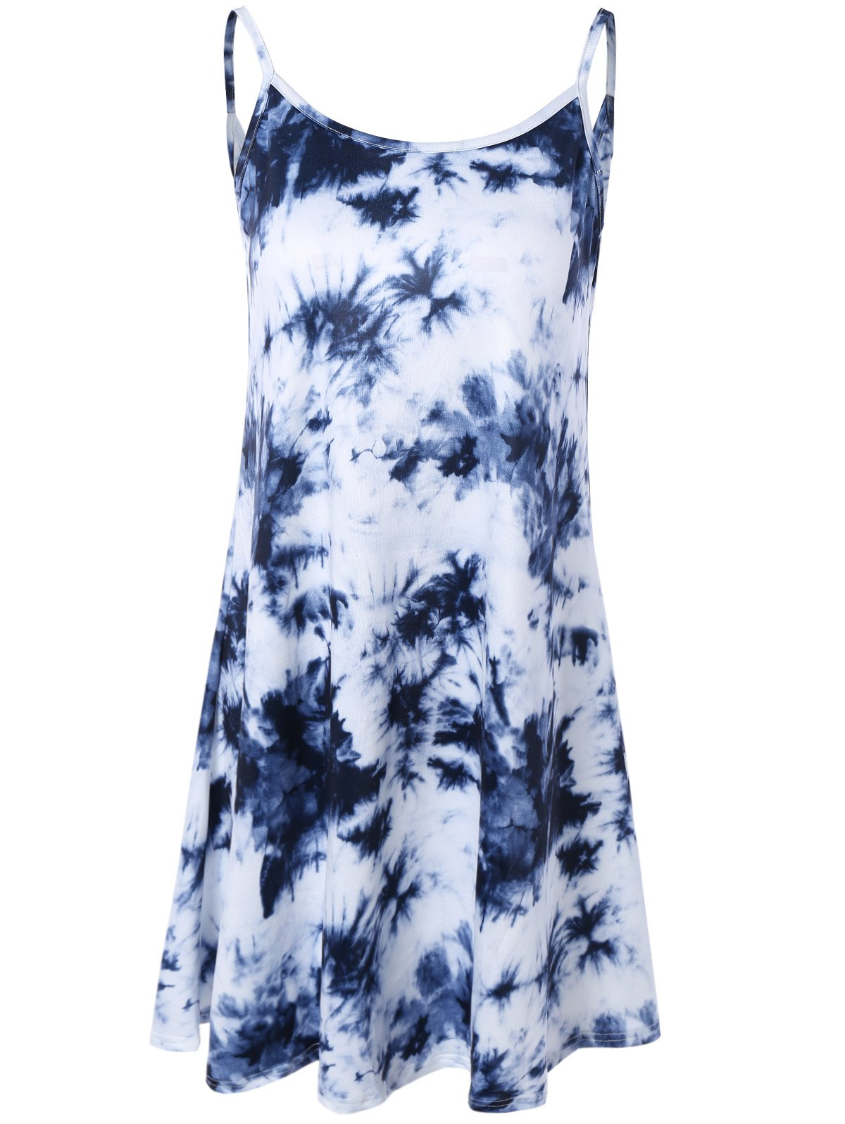 Fashion Tie Dye Summer Slip Dress
