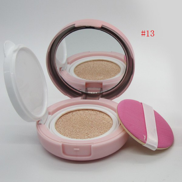 Discount Stylish Brighten Moisturizing Air Cushion CC Cream with Mirror and Puff