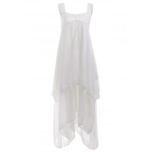 Tiered Lacework Handkerchief Dress