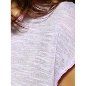 Trendy Solid Color Furcal T-Shirt For Women -