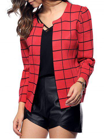 Buy Preppy Style Plaid All-Matched Jacket