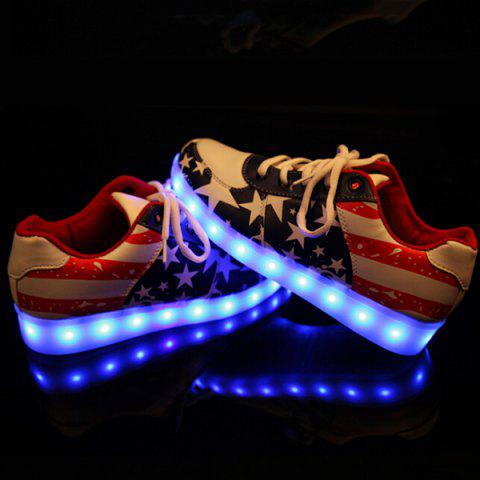 New Luminous Led Shoes Sneakers COLORMIX 41