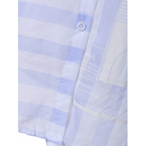 Clean and Fresh Thick-Striped Shirt -