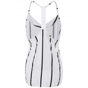 Brief Spaghetti Straps Backless Tank Top For Women -