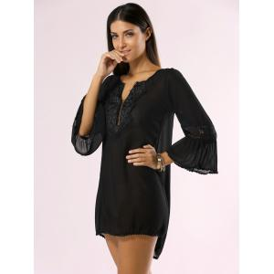 Guipure Light See Through Bathing Suit Cover-Up -