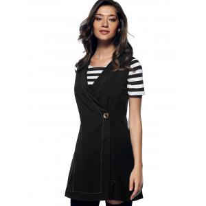Charming V-Neck Button Design Slimming Women's Waistcoat -