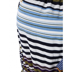 Colorful Striped Spaghetti Strap Dress -