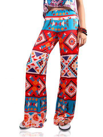 Outfit Ethnic Women's Loose Tribal Print Exumas Pants