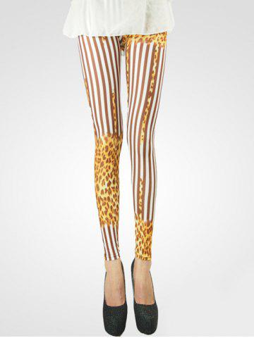 Store Stylish Leopard Leggings For Women