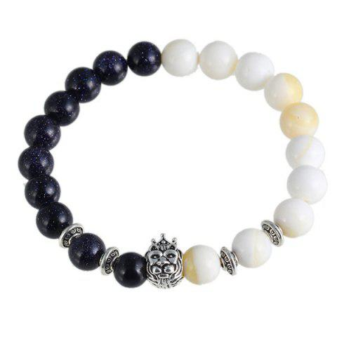 Fashion Vintage Crown Lion Head Bracelet For Women