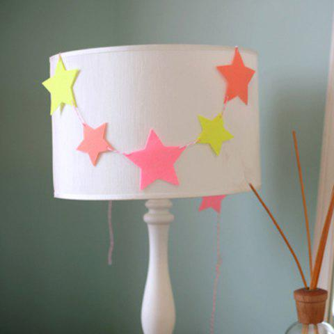 Store Charming Home Decor Birthday Colorful Hang Star Flag Party Supplies - COLORFUL  Mobile