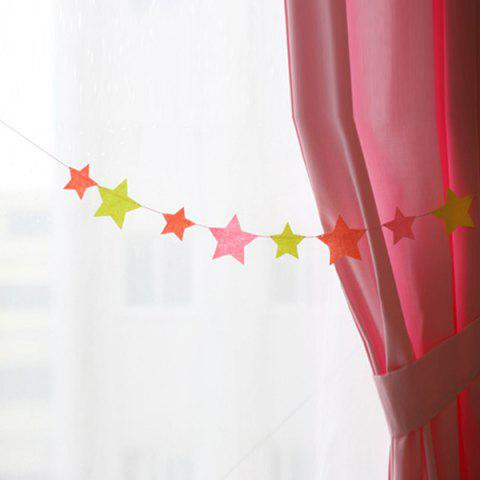 Shop Charming Home Decor Birthday Colorful Hang Star Flag Party Supplies - COLORFUL  Mobile