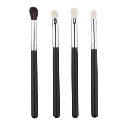 Latest Stylish 4 Pcs Soft Wool Eye Makeup Brushes Set