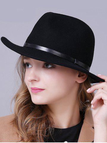 Outfit Stylish Wool Fedora Hat