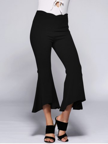 Outfits High Waist Slimming Bell Bottom Stretchy Pants