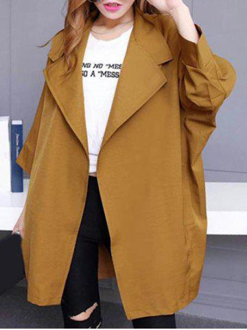 Chic Loose Long Sleeve Trench Coat