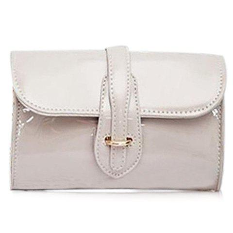 Hot Stylish Buckle and Chain Design Crossbody Bag For Women