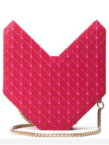 Hot Fashionable Solid Colour and Geometric Pattern Design Shoulder Bag For Women