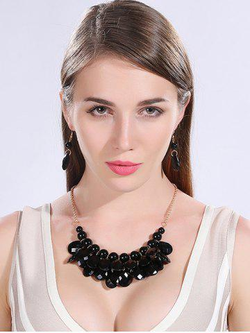 Best Water Drop Statement Necklace and Earrings
