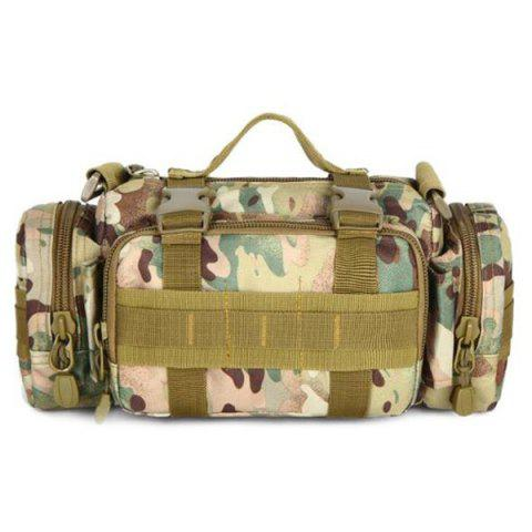 Outfits Leisure Multicolor and Camouflage Pattern Design Messenger Bag For Men