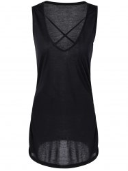 Attractive Criss-Cross Skinny Dress For Women