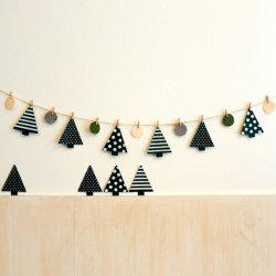 Festival Wall Decor Christmas Tree Clamp Party Decoration Supplies