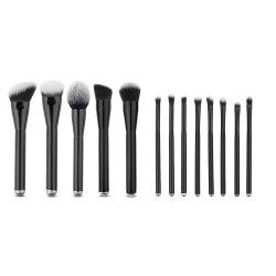 Stylish 13 Pcs Soft Nylon Facial Eye Makeup Brushes Set