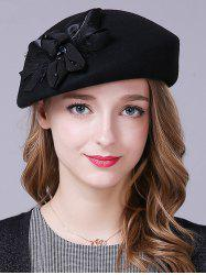 Stylish Bowknot Wool Beret