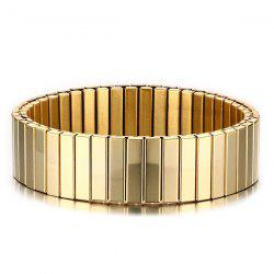 Alloy Burnished Round Bracelet -
