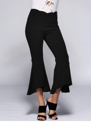 High Waist Slimming Bell Bottom Stretchy Pants -