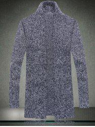 Casual Style Loose-Fitting Long Cardigan For Men -