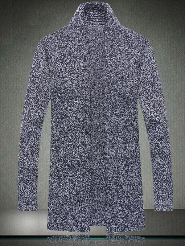 Sale Casual Style Loose-Fitting Long Cardigan For Men