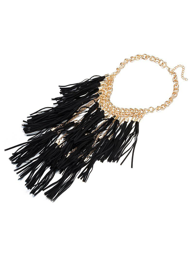 Chic Tassel Necklace Ropes