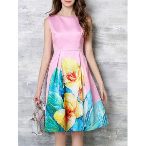 Charming Blossom Bright Color Dress