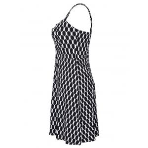 Alluring Crossover Hollow Out Dress For Women -