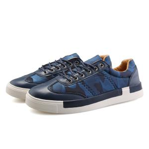 Sports Style Camouflage Print and Splice Design Casual Shoes For Men -
