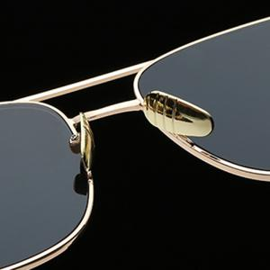 Stylish Metal Frame Rectangle Sunglasses For Women -