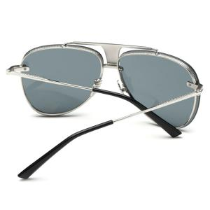 Stylish Frameless Pilot Sunglasses -