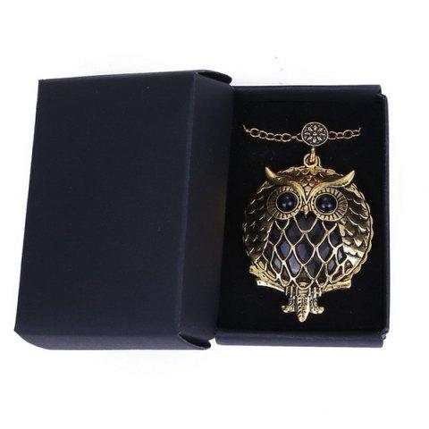 Buy Owl Box Magnifying Glass Sweater Chain - COPPER COLOR  Mobile