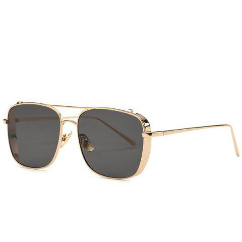 Discount Stylish Metal Frame Rectangle Sunglasses For Women
