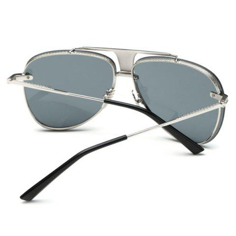 Outfits Stylish Frameless Pilot Sunglasses - GRAY  Mobile